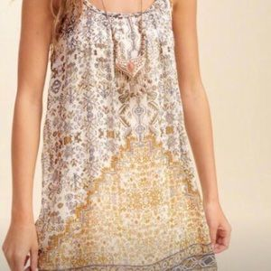 Hollister patterned dress